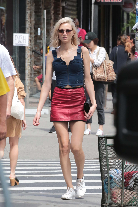Andreja Pejic out in New York