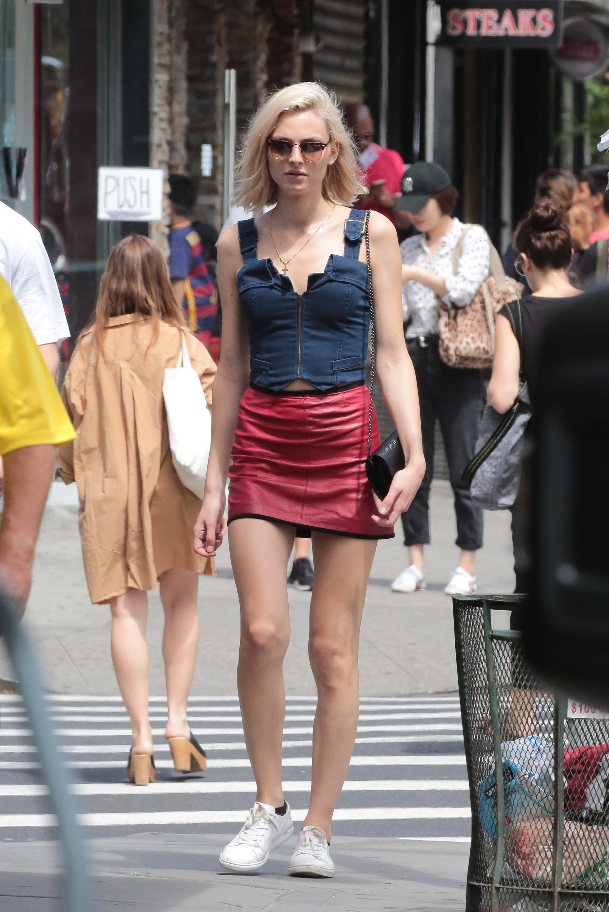 Andreja Pejic out in New York