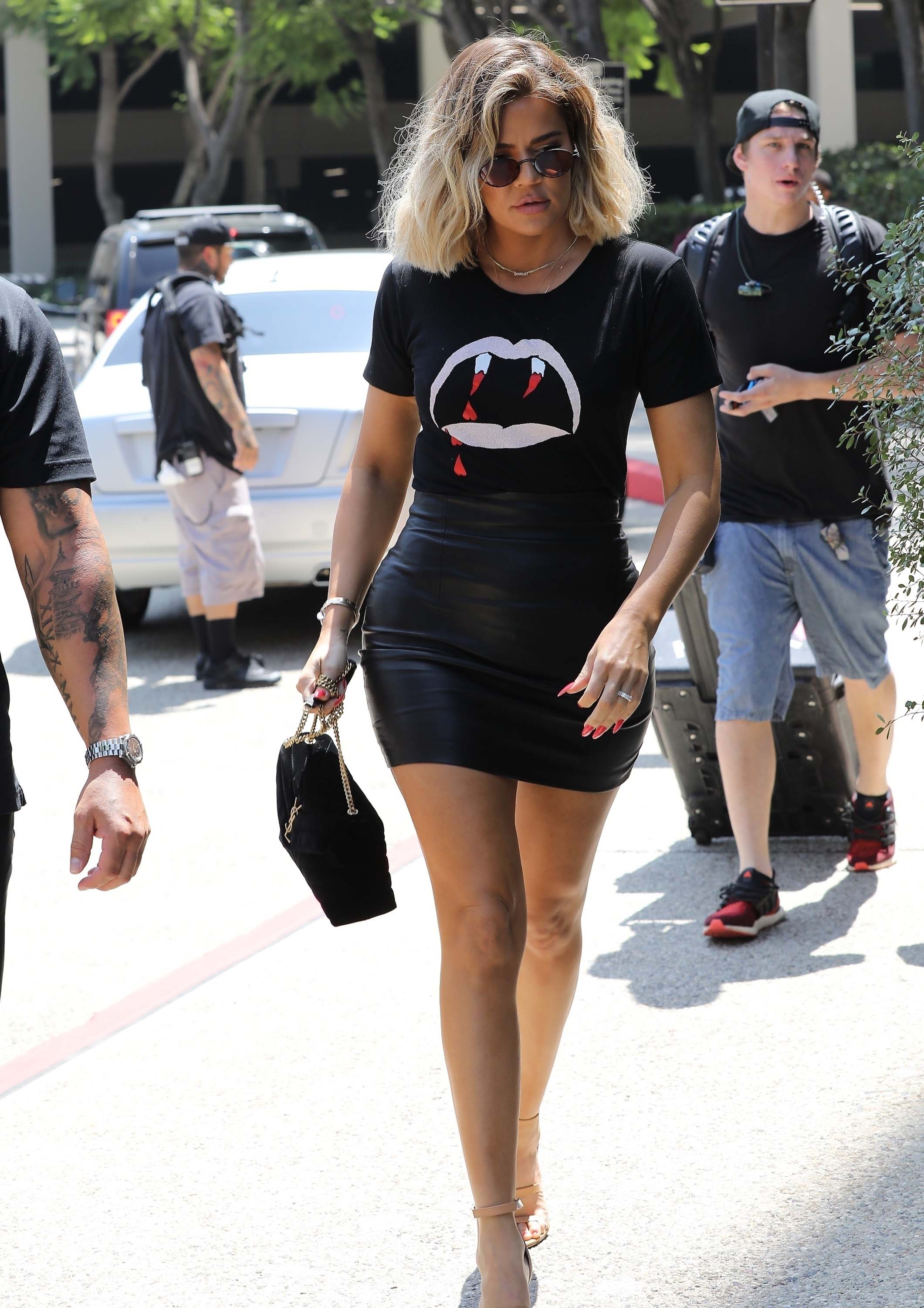 Khloe Kardashian met up for a family lunch