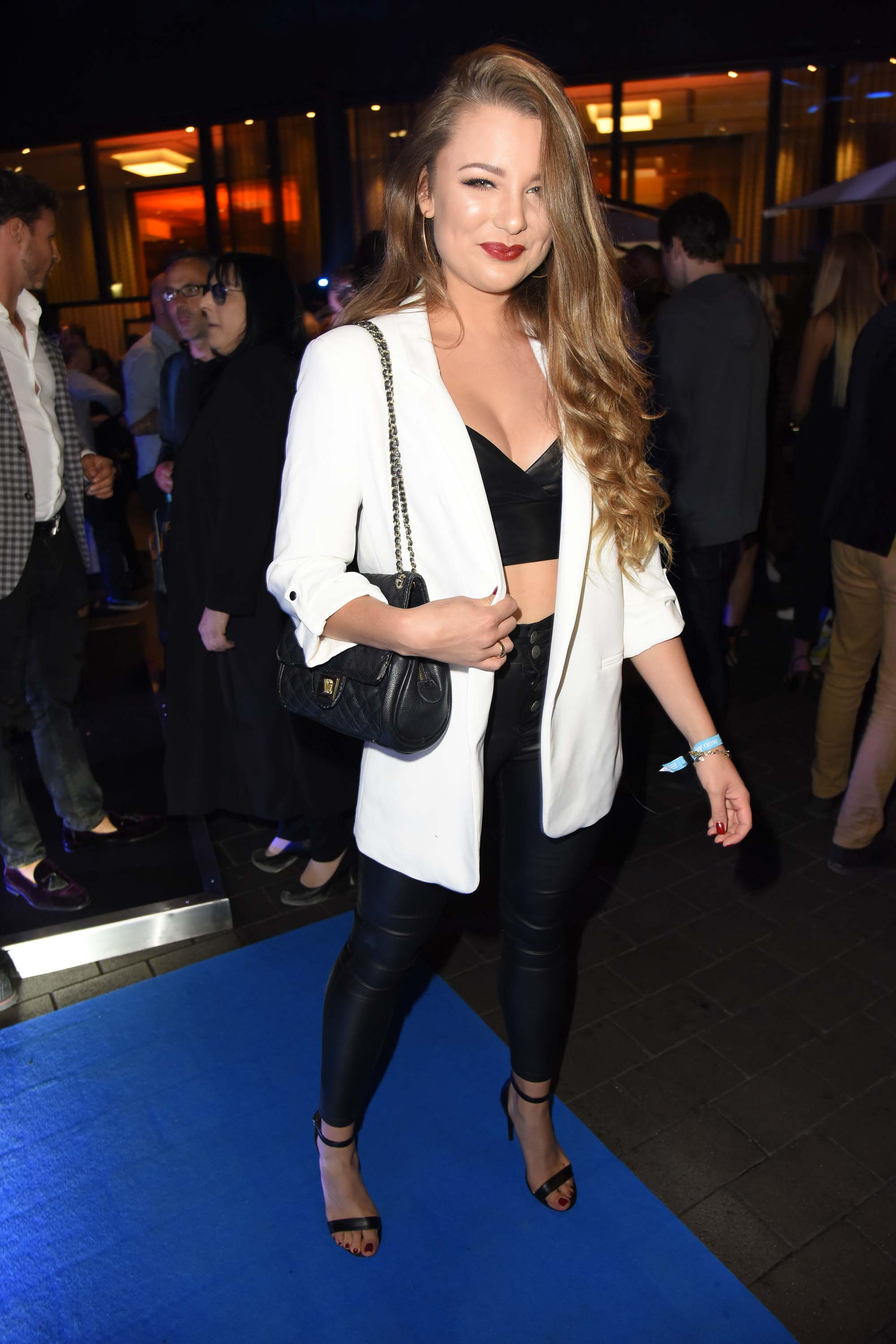 Joelina Drews attends Alcatel Entertainment Night feat. Music Meets Media