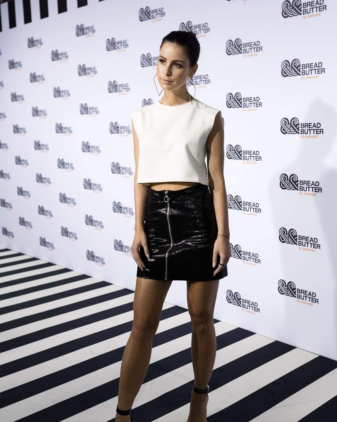 Lena Meyer-Landrut Attends Moschino TV H&M Pre-Shopping