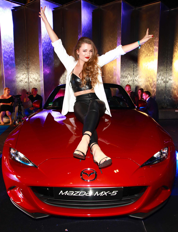 Joelina Drews attends Alcatel Entertainment Night feat. Music Meets Media