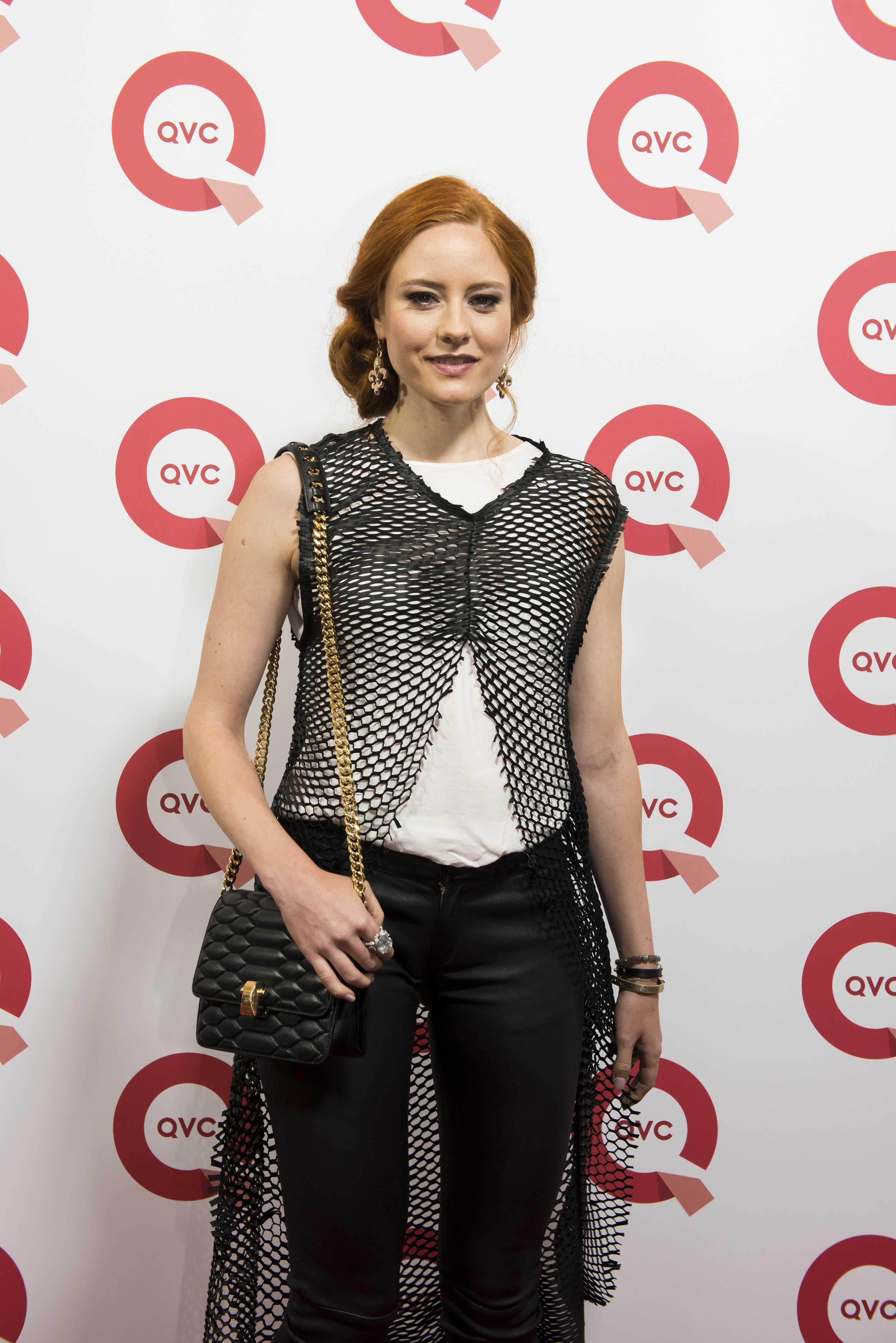Barbara Meier at the QVC + VOGUE Fashion Night