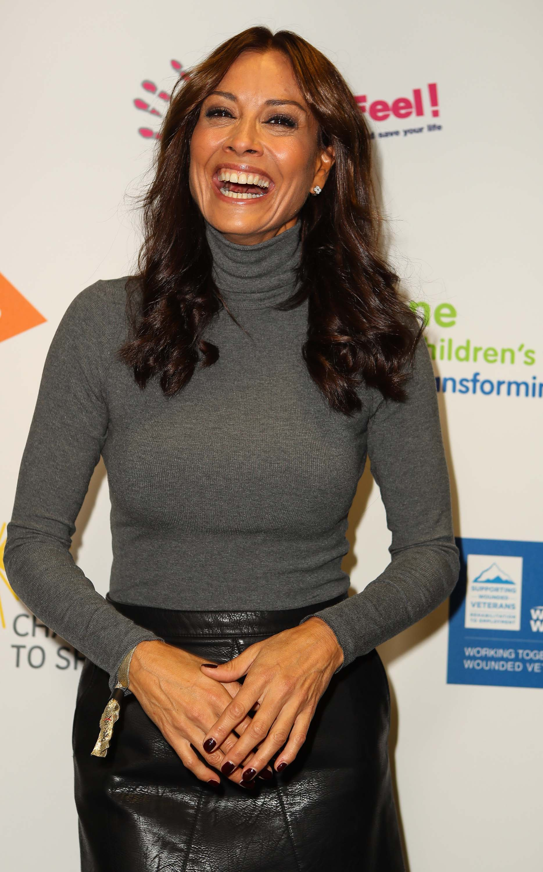 Melanie Sykes attends BGC Charity Day