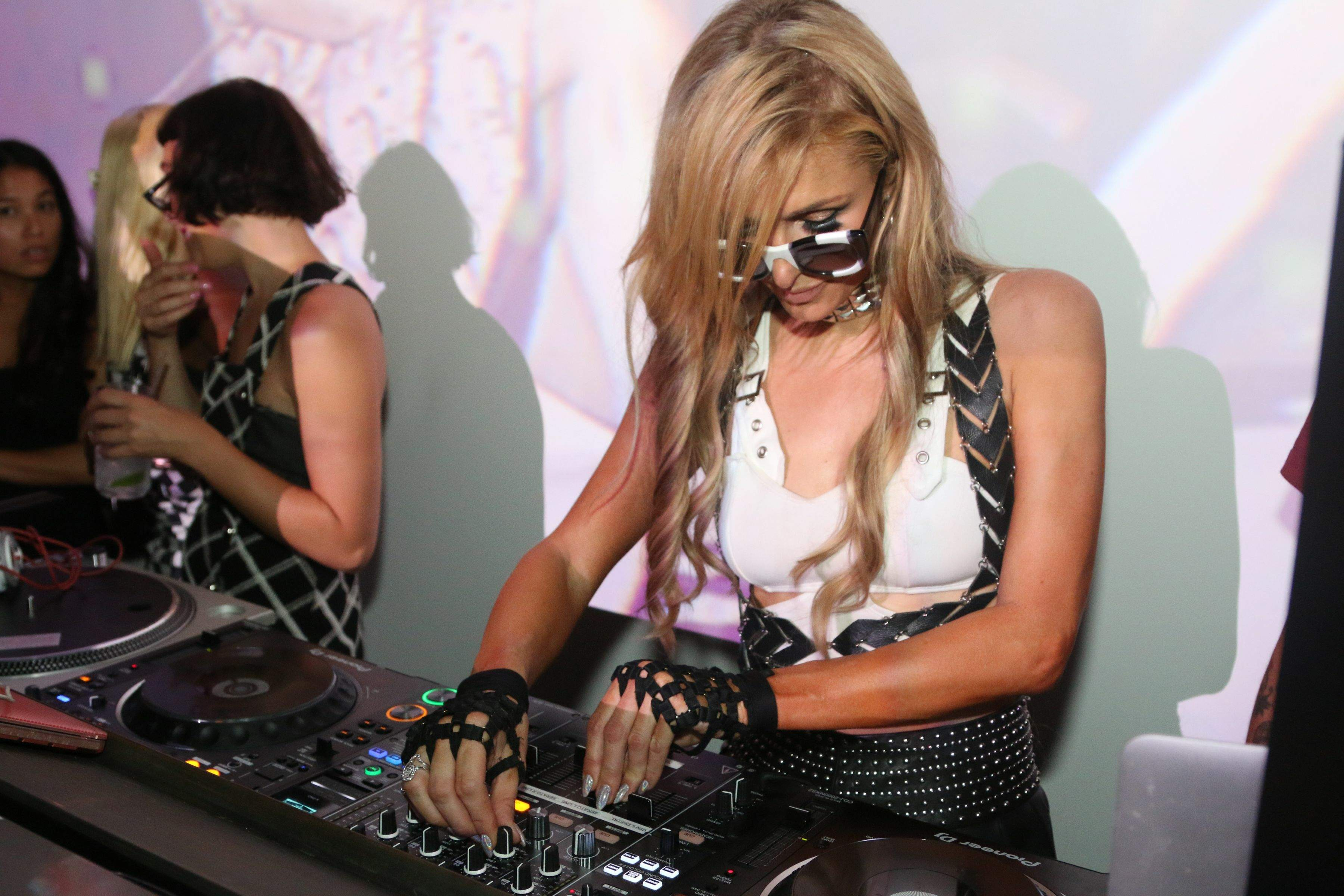 Paris Hilton attends Galore and Juicy Couture Ball