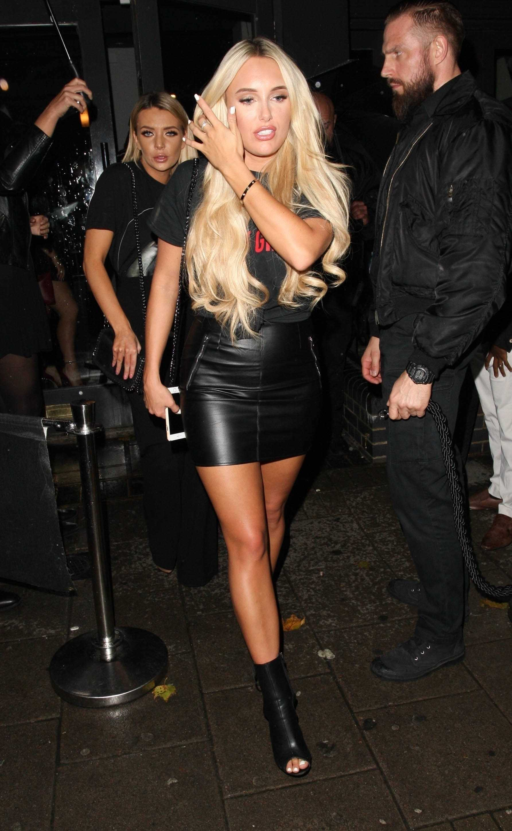 Amber Turner night out at Essex House 152