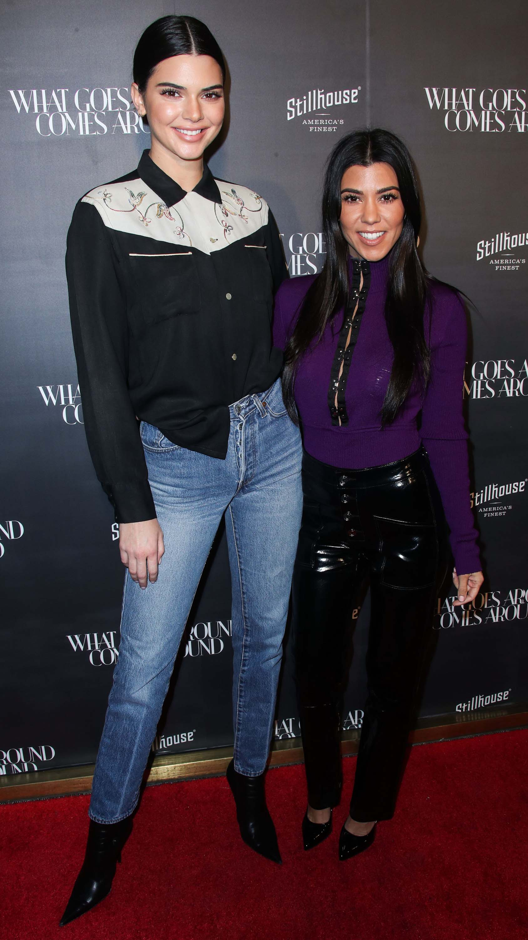 Kourtney Kardashian attends What Goes Around Comes Around 1 Year Anniversary Celebration