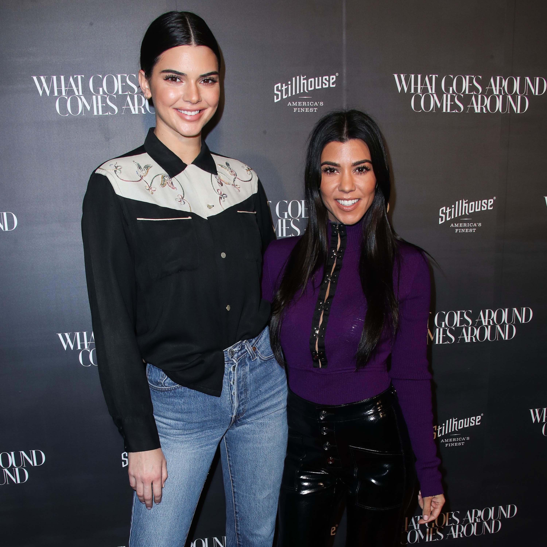 Kourtney Kardashian attends What Goes Around Comes Around 1 Year Anniversary Celebration