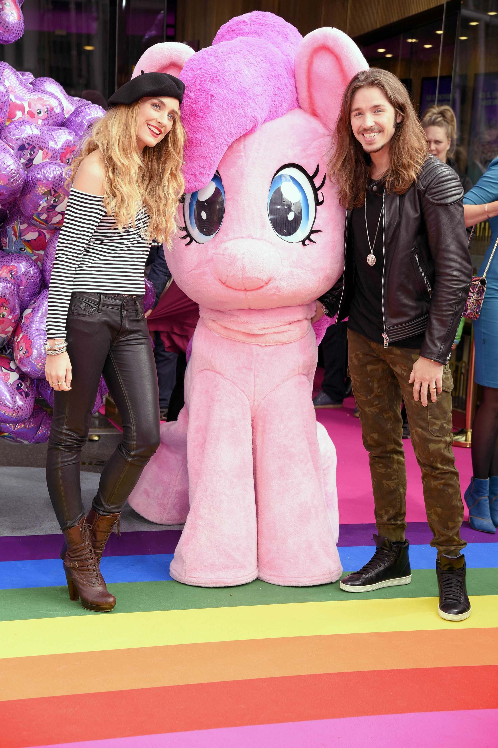 Verena Brock at the premiere of 'My Little Pony'