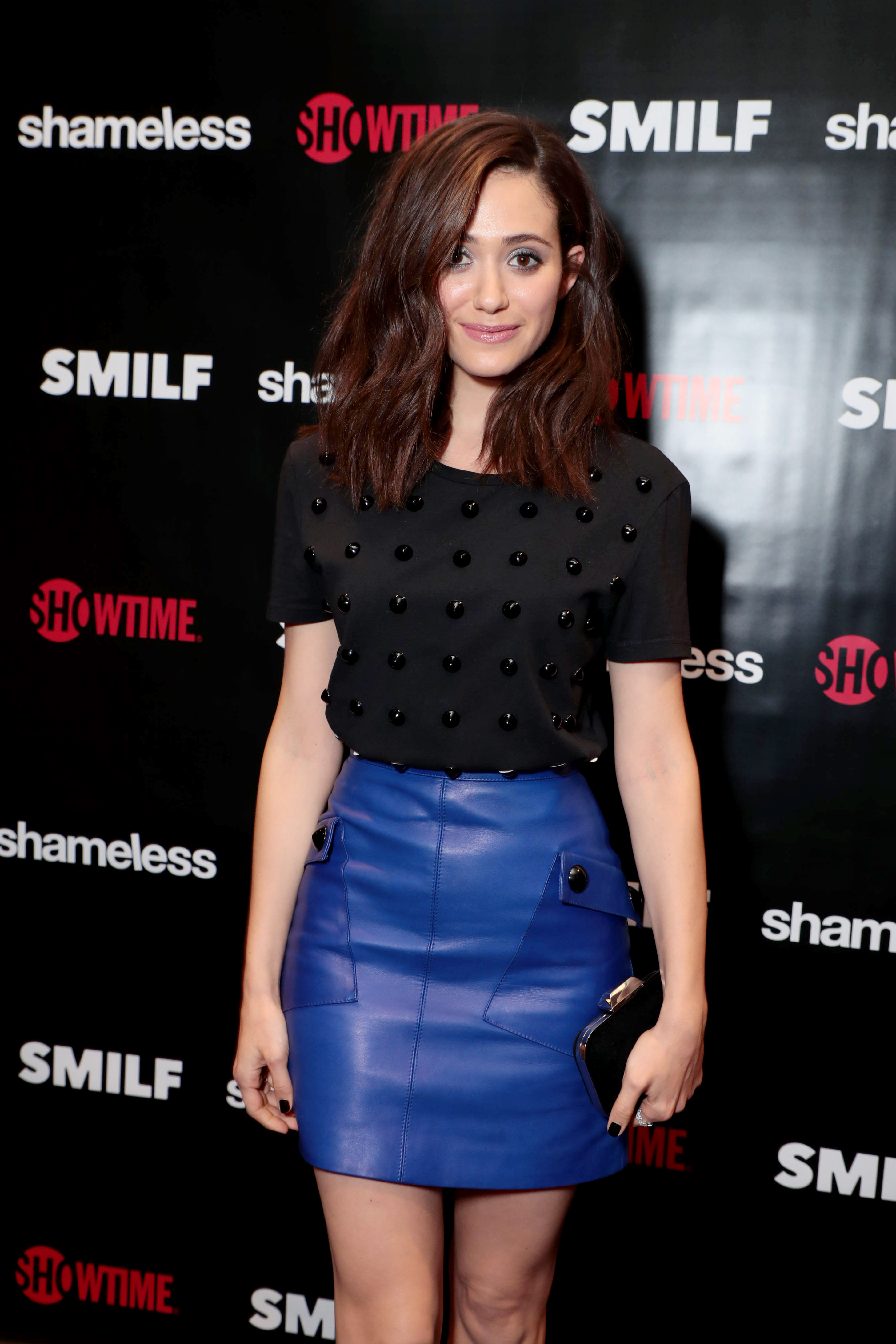 Emmy Rossum attends SHOWTIME's Shameless Fest
