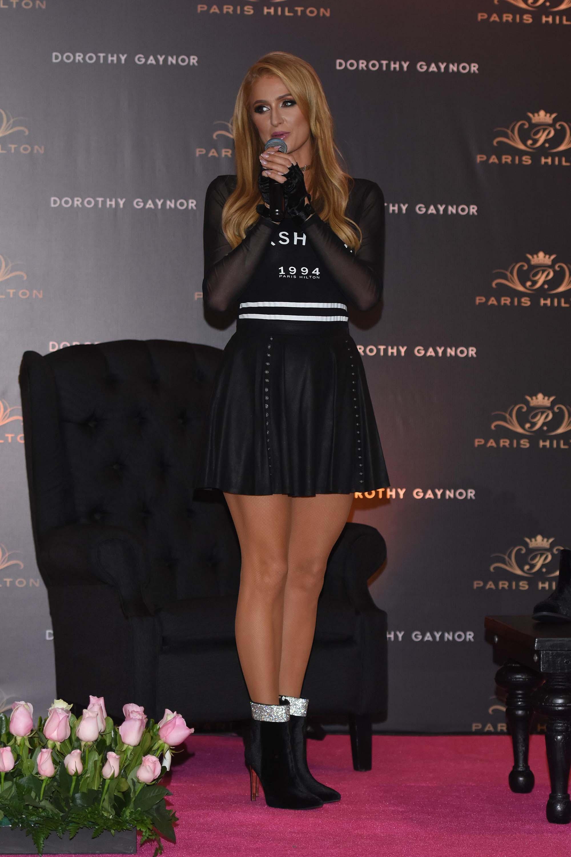 Paris Hilton at her Footwear by Dorothy Gaynor Launch