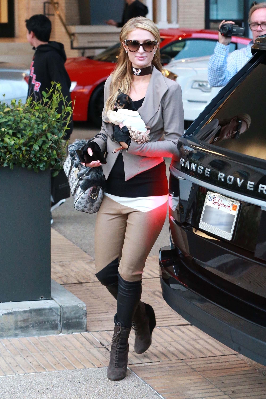 Paris Hilton at Barneys New York