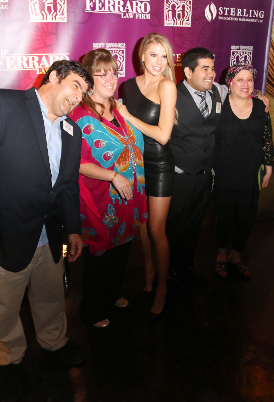 Charlotte Mckinne attends the Best Buddies gala event