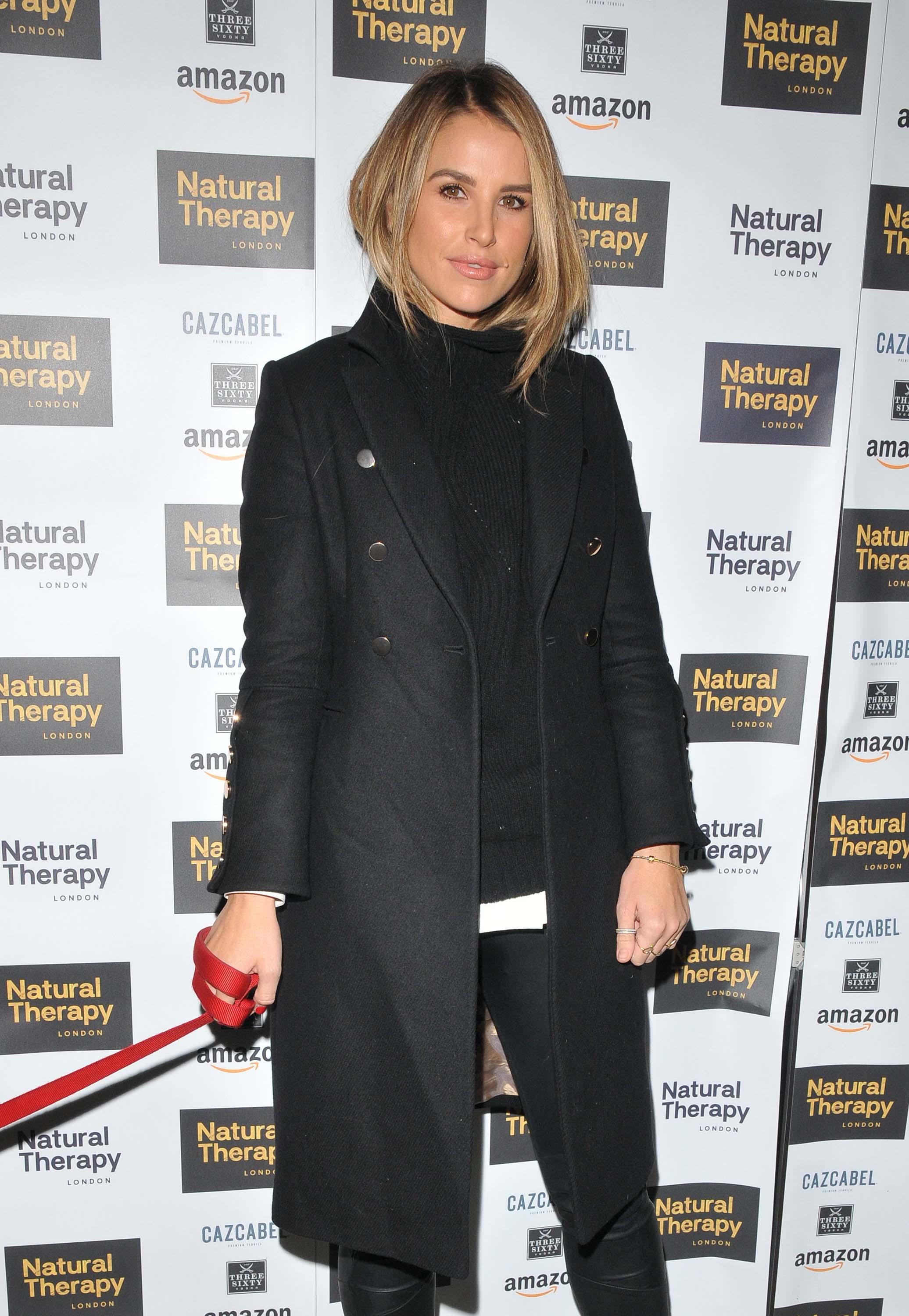 Vogue Williams attends Natural Therapy party