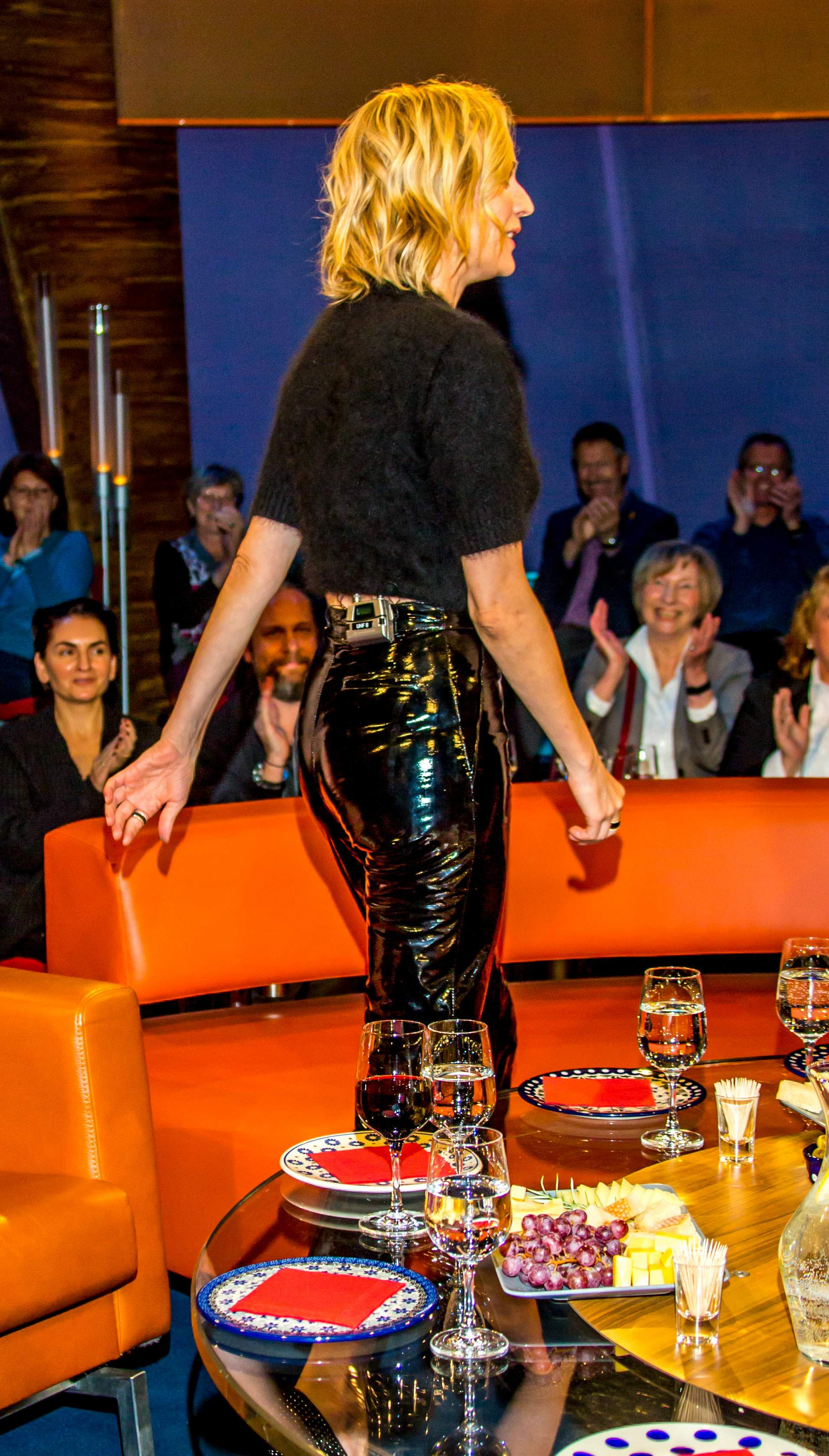 Diane Kruger attends the 'NDR Talkshow'