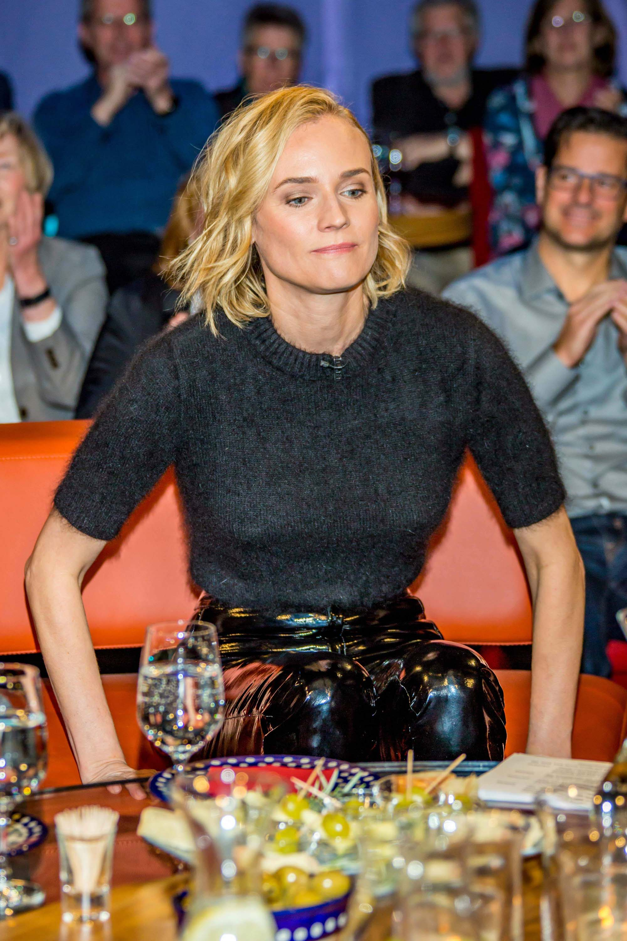 Diane Kruger attends the 'NDR Talkshow'