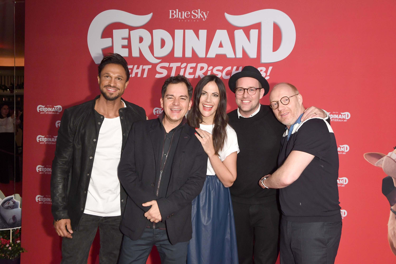 Bettina Zimmermann attends German premiere of Ferdinand