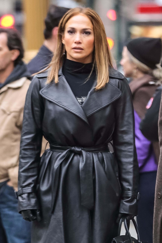 Jennifer Lopez is seen in NYC