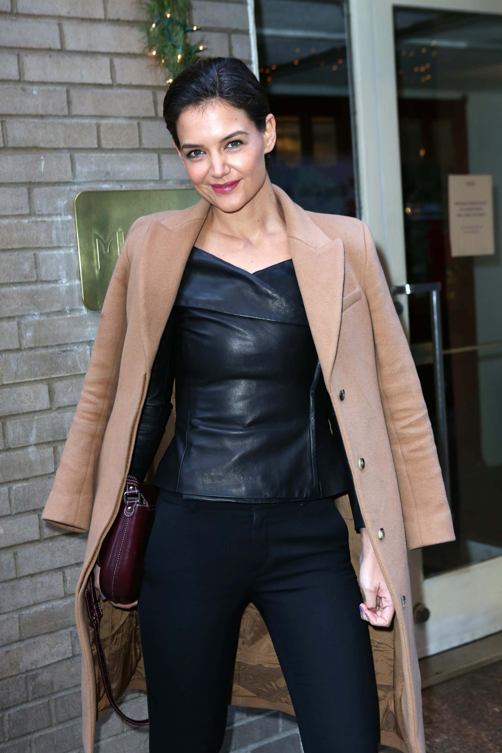 Katie Holmes attends Cosmo's 100 Most Powerful Women Luncheon