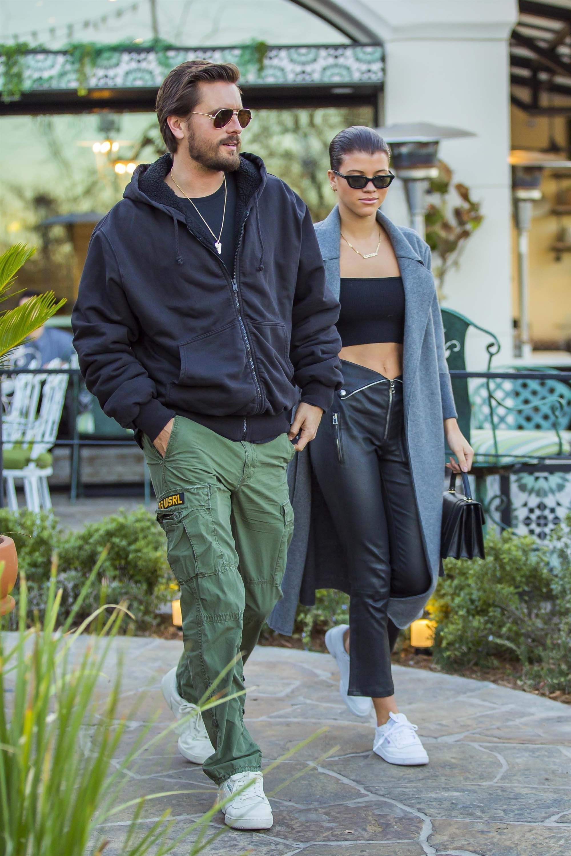 Sofia Richie at Sugarfish Sushi