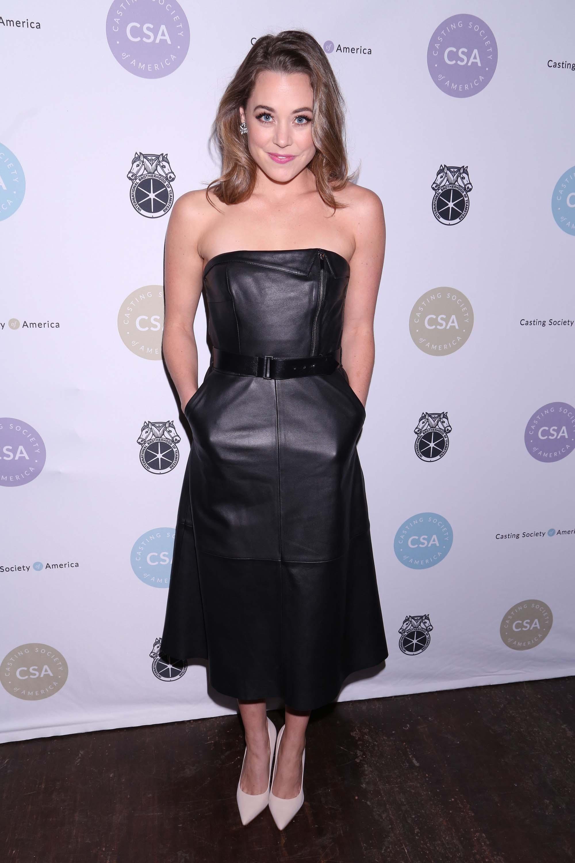 Erika Henningsen attends Casting Society of America's 33rd Artios Awards