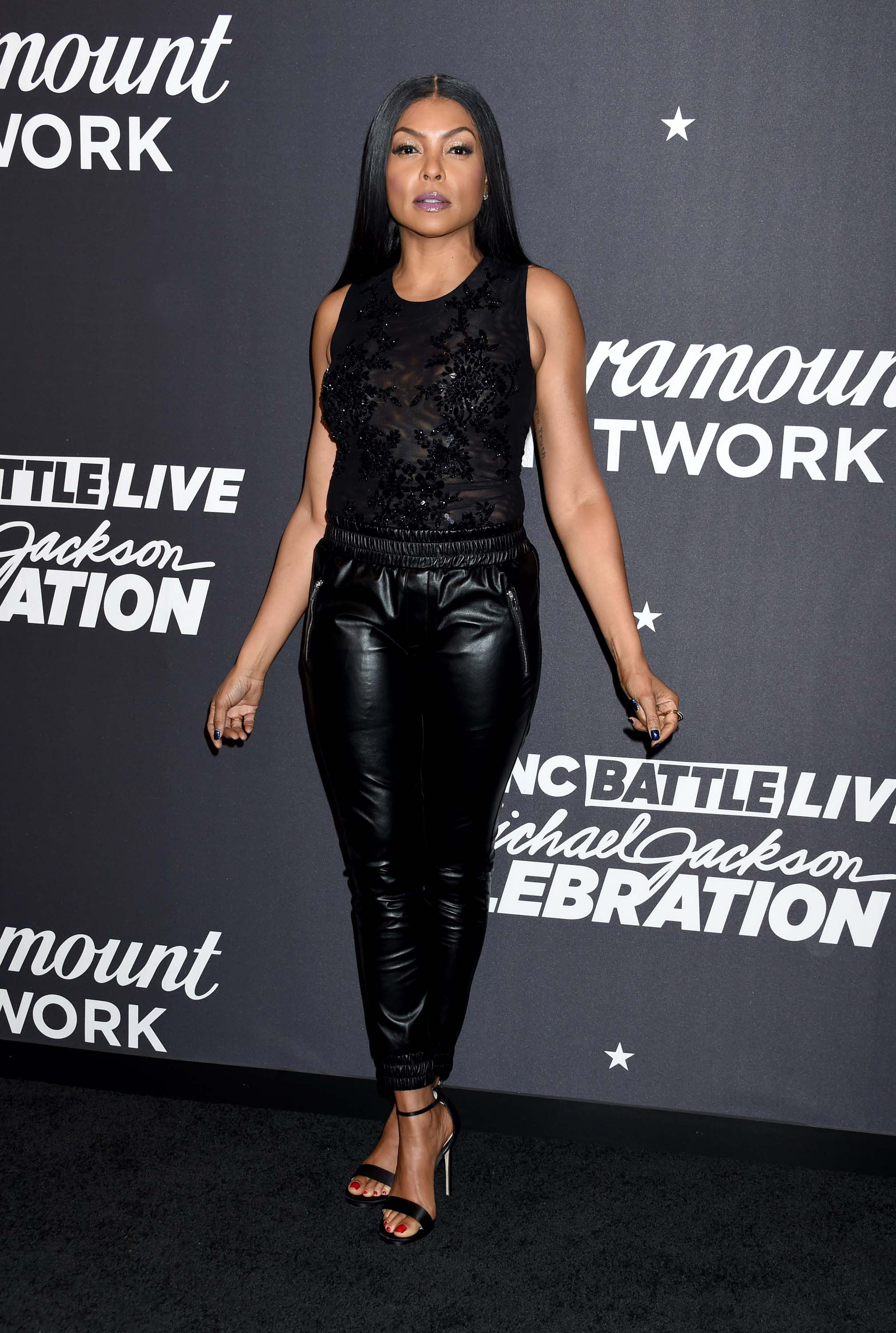 Taraji P. Henson attends Lip Sync Battle LIVE: A Michael Jackson Celebration