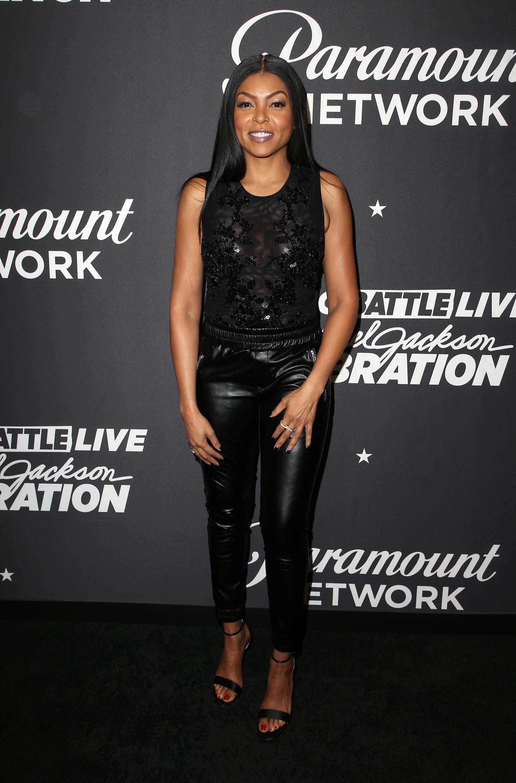 Taraji P. Henson attends Lip Sync Battle LIVE: A Michael Jackson Celebration