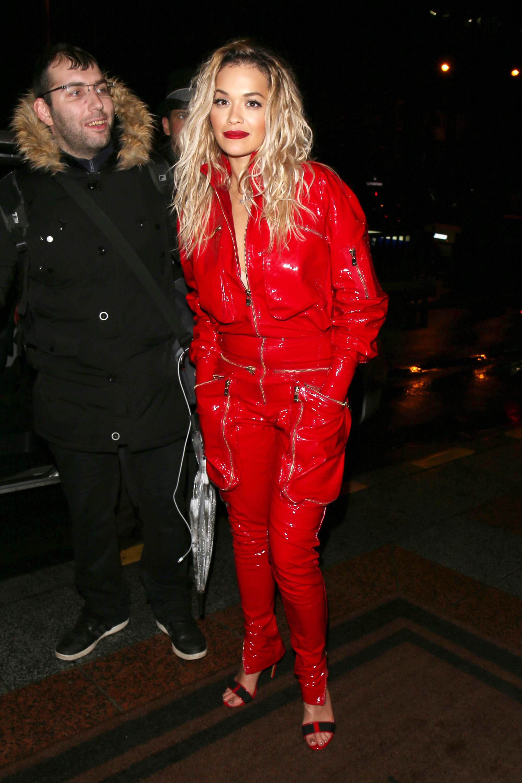 Rita Ora leaving an event in Paris