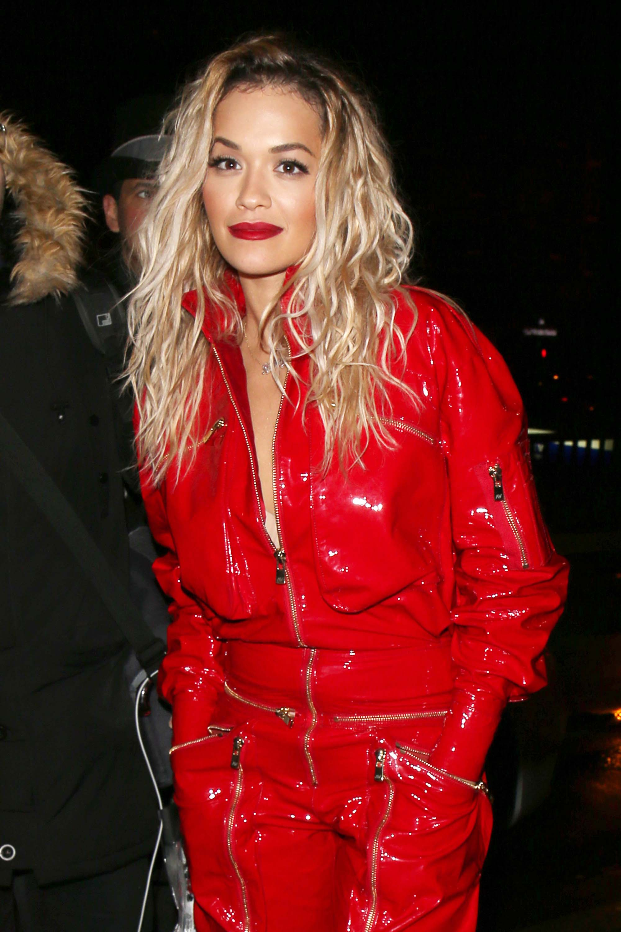Rita Ora leaving an event in Paris