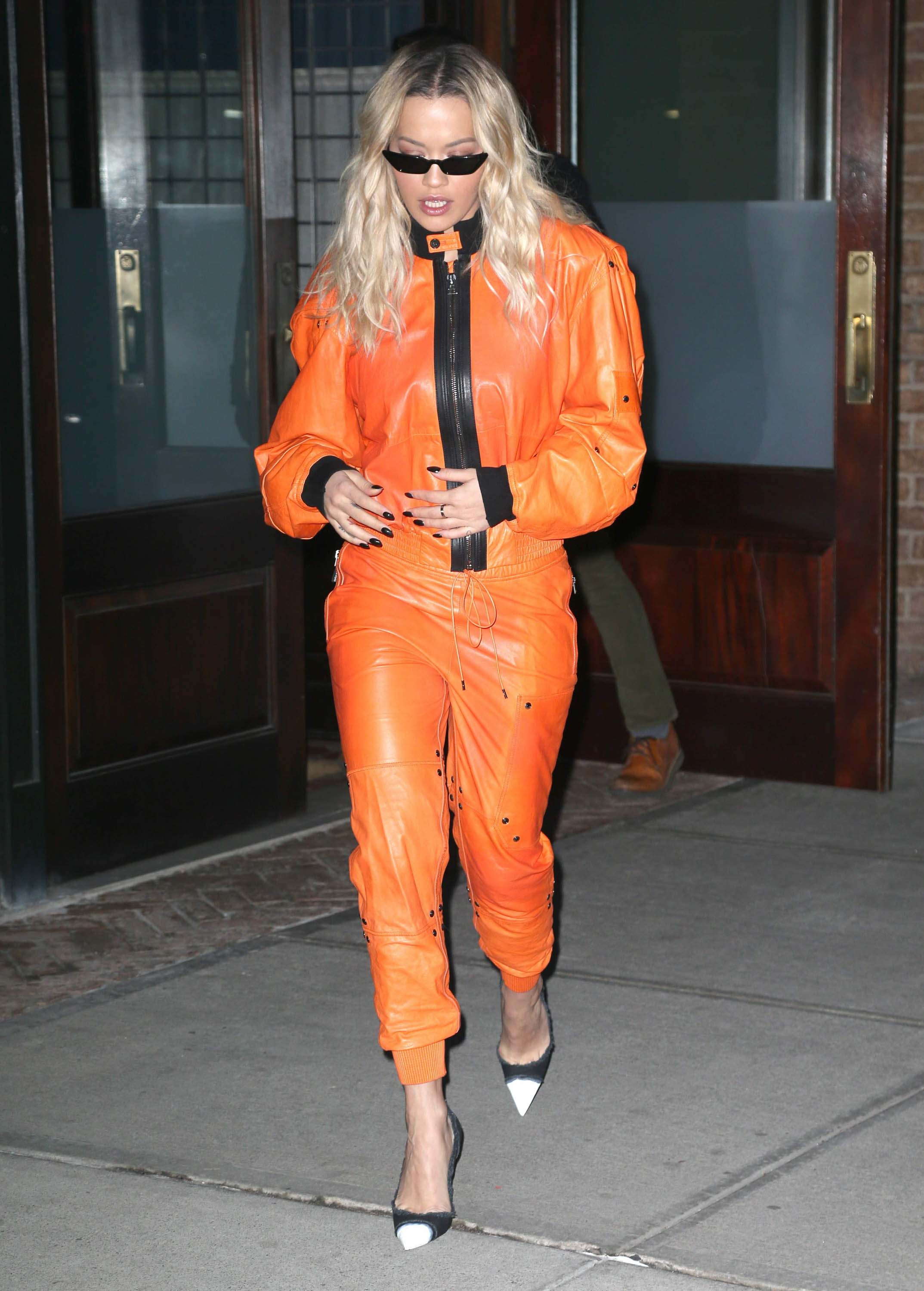 Rita Ora heads to Late Night with Seth Meyers