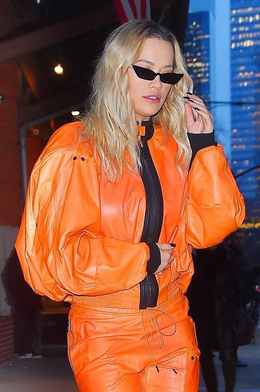 Rita Ora heads to Late Night with Seth Meyers
