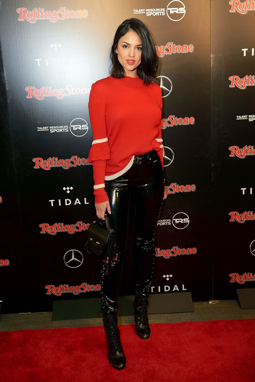 Eiza Gonzalez attends Rolling Stone Live Super Bowl Party