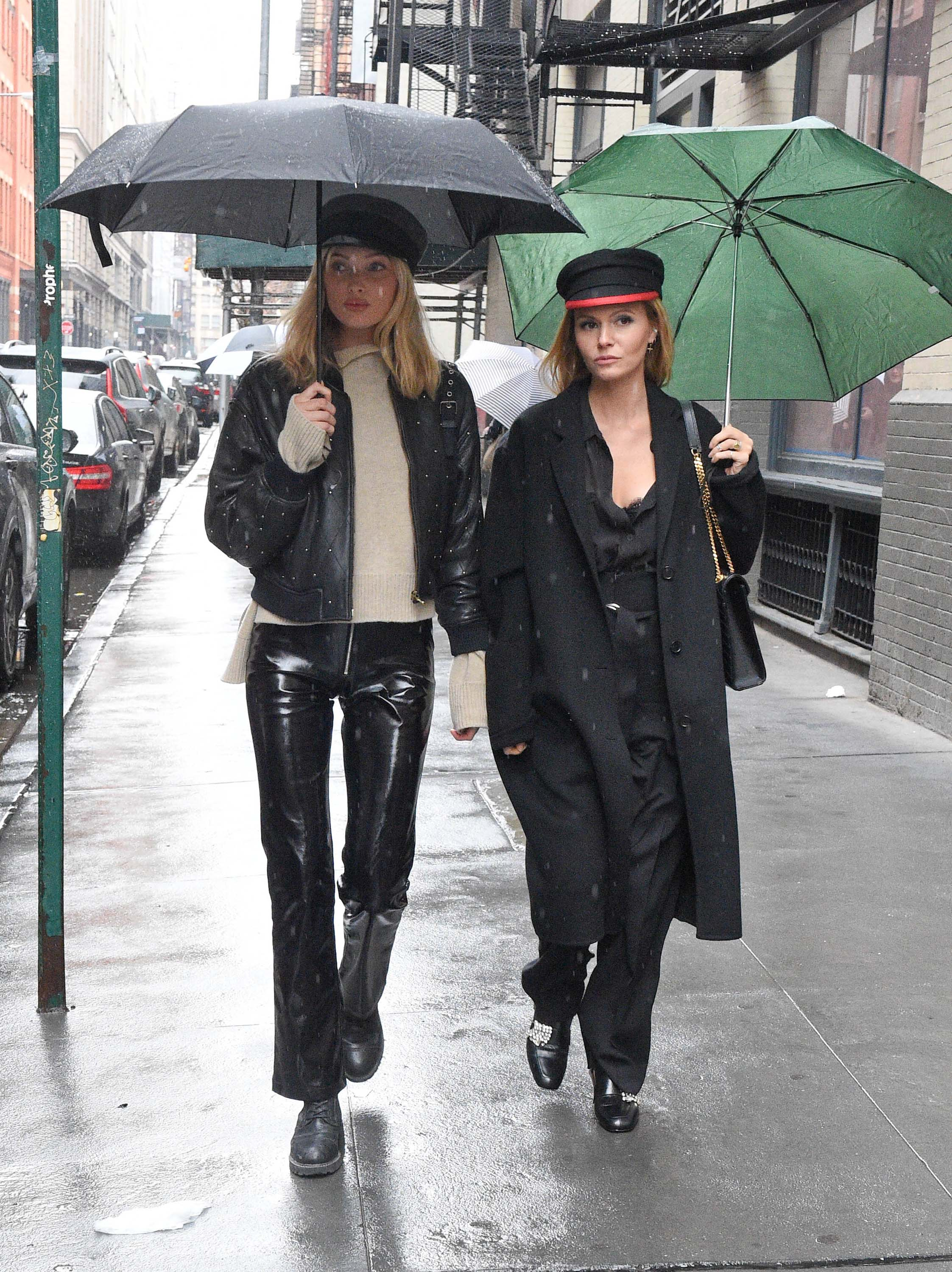 Elsa Hosk out and about in New York