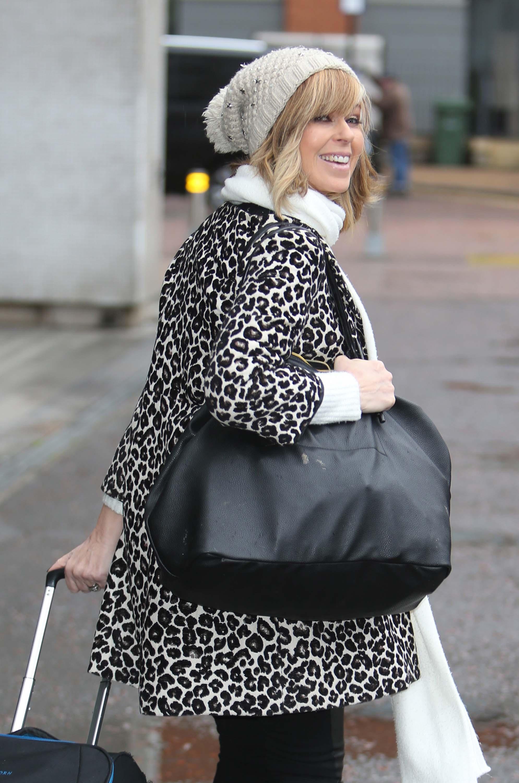 Kate Garraway outside ITV Studios