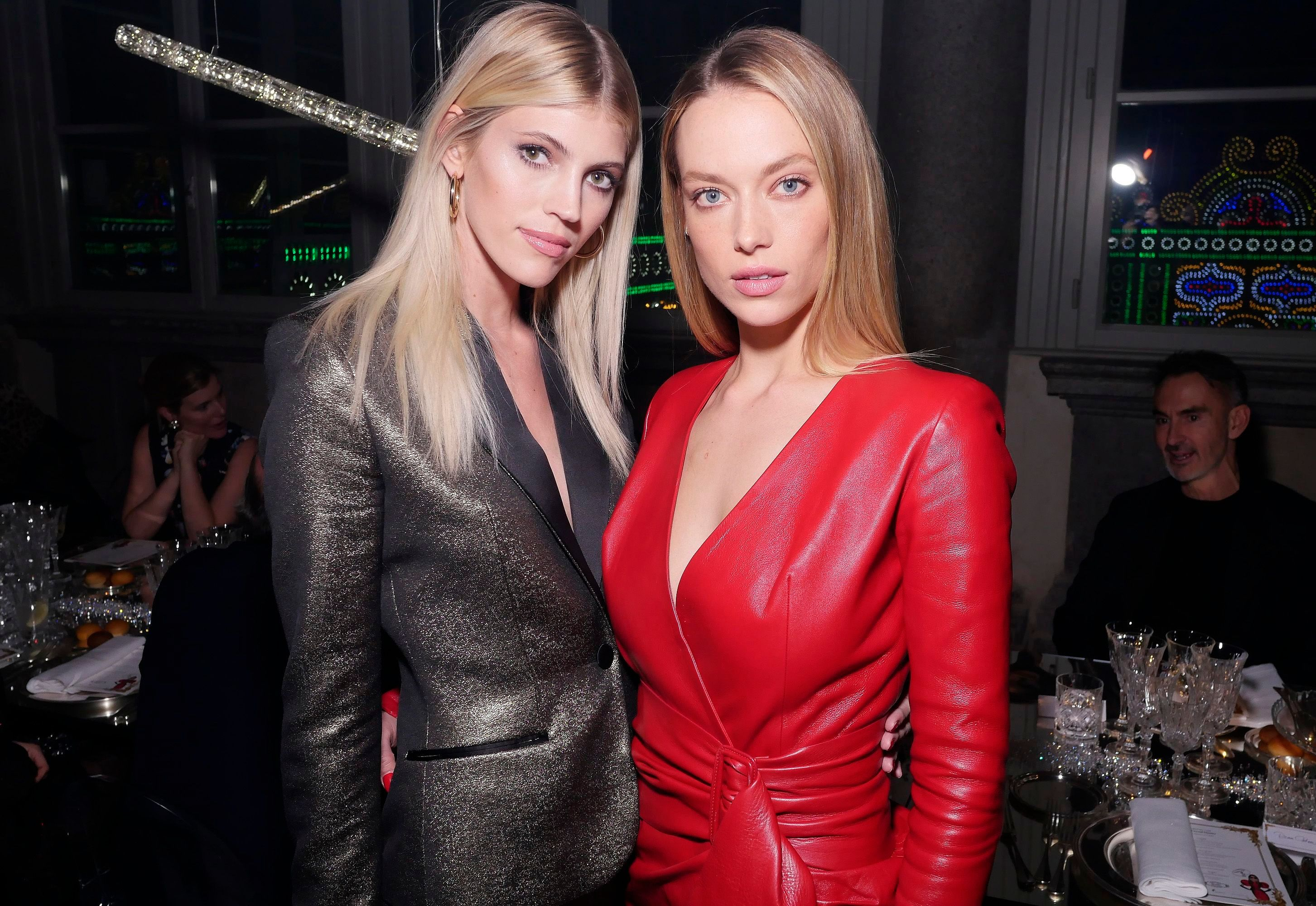 Devon Windsor & Hannah Ferguson attend ADR Beyond Fashion