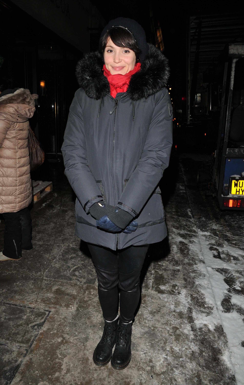 Gemma Arterton out in London