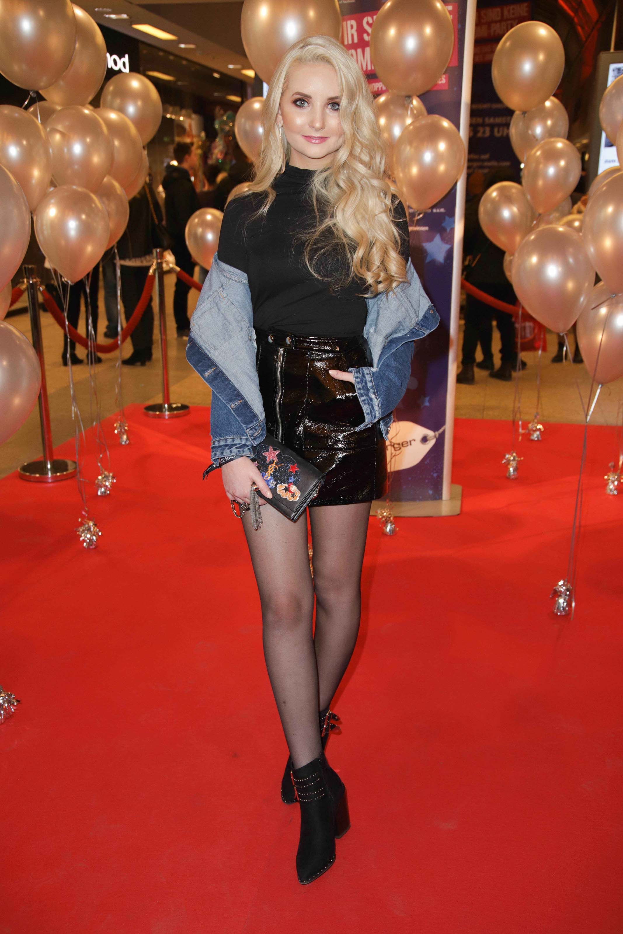 Anna Hiltrop at Late Night Shopping Party