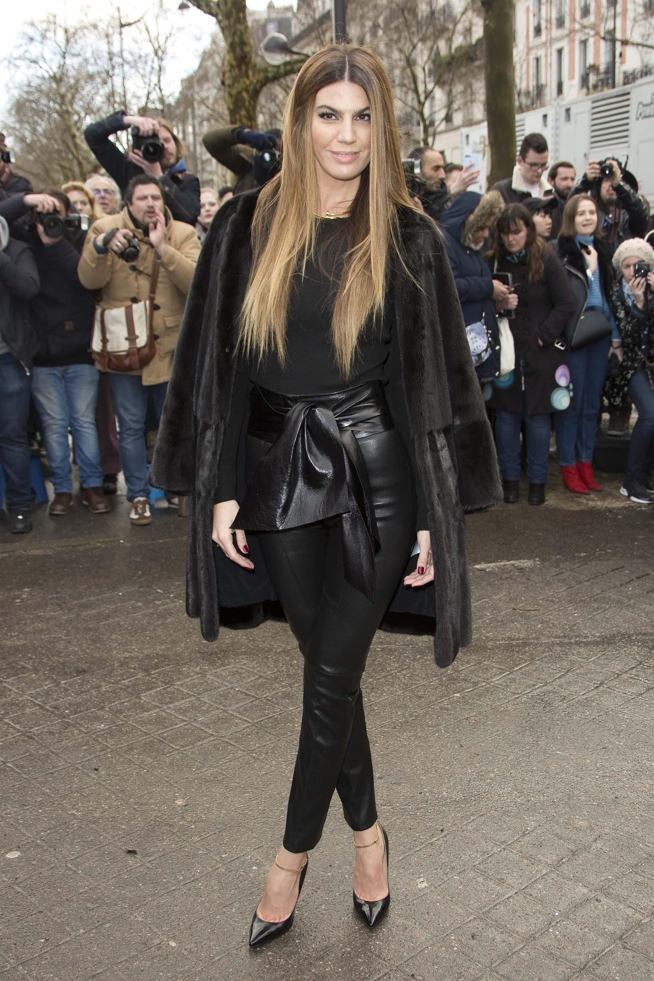 Coco Brandolini d'Adda attends Valentino show