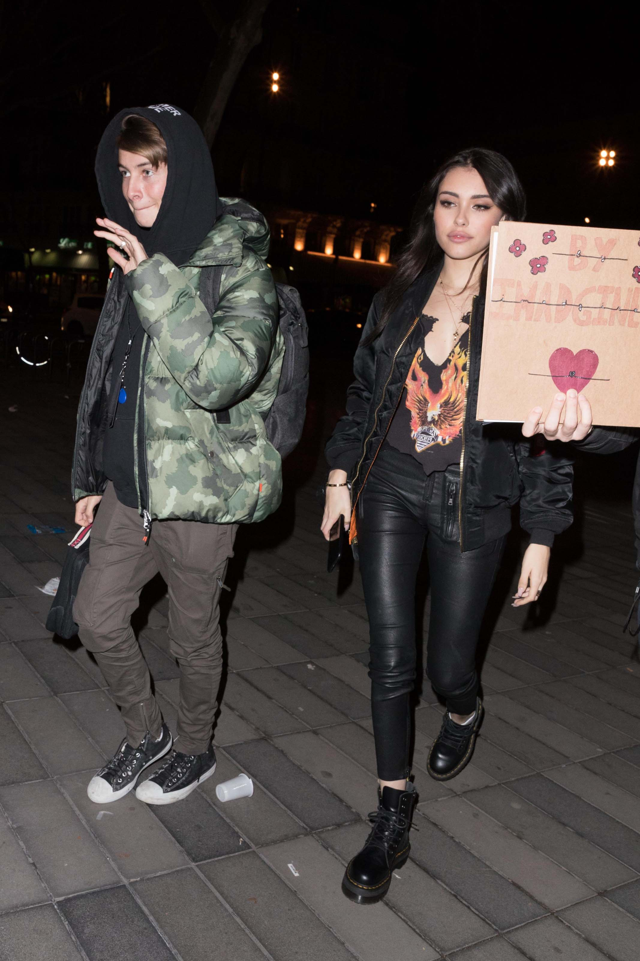 Madison Beer at the Crowne Plaza Hotel