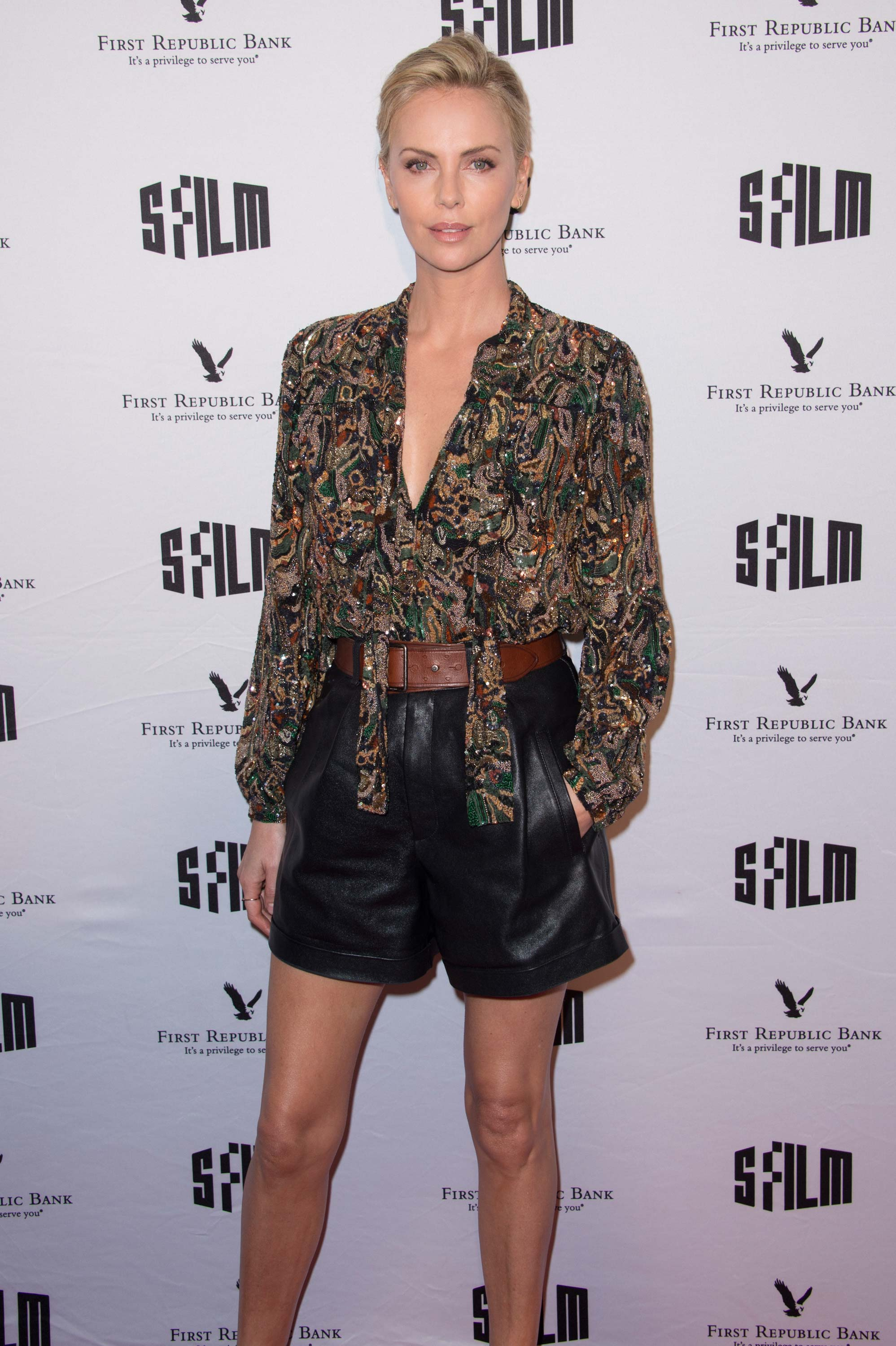 Charlize Theron attends 2018 San Francisco Film Festival