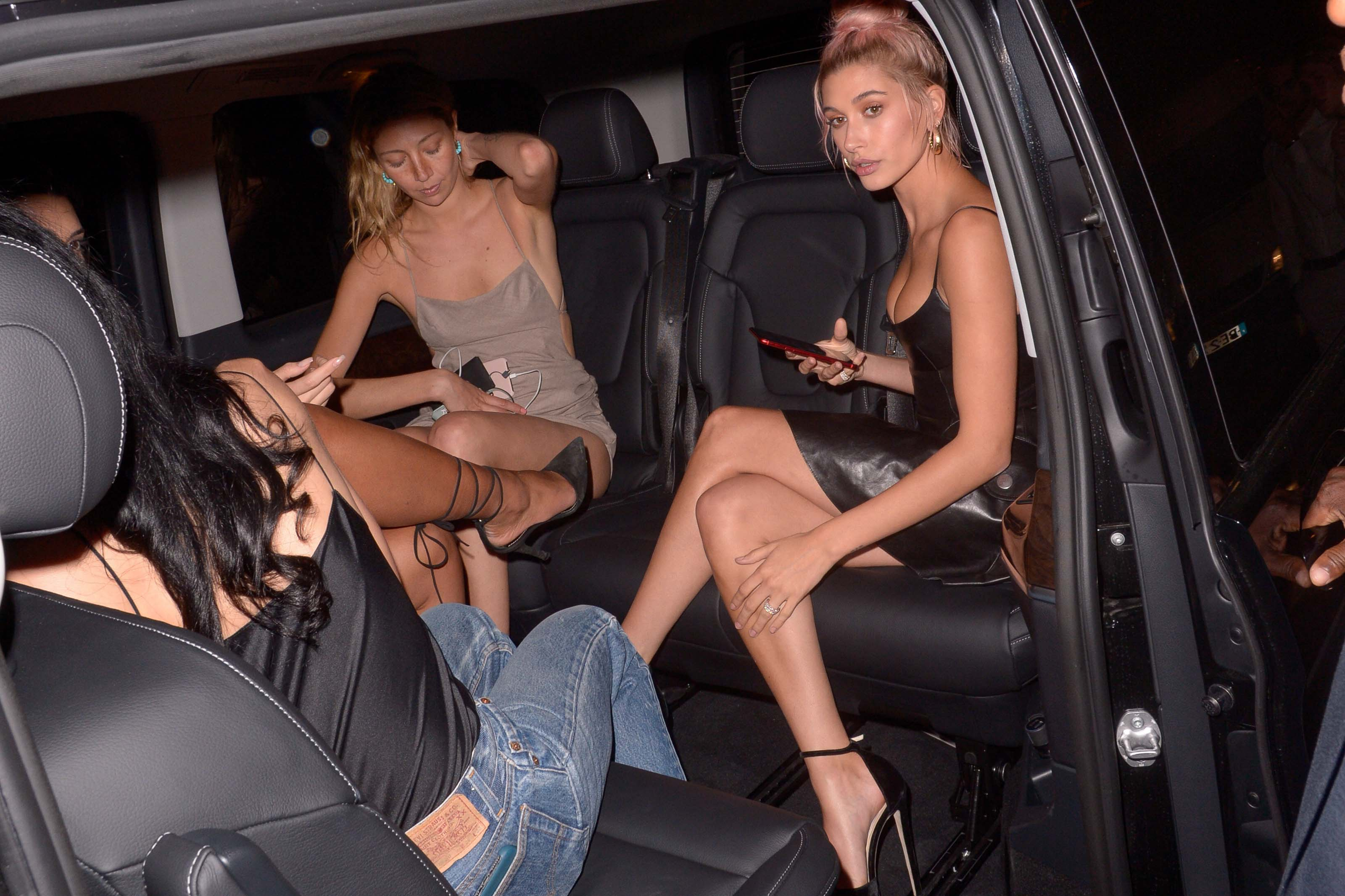 Hailey Baldwin attends Magnum Party