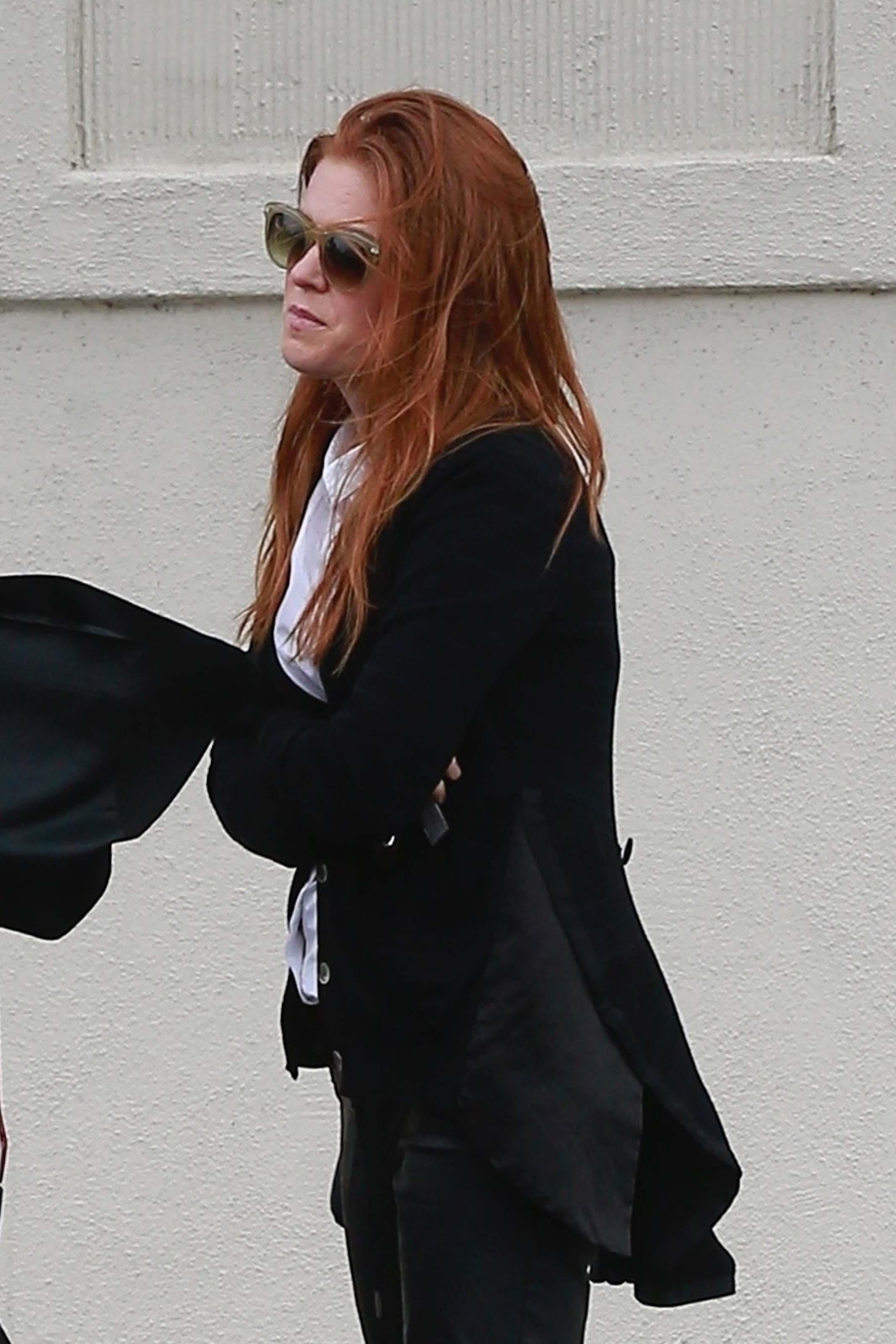 Isla Fisher running errands in Beverly Hills