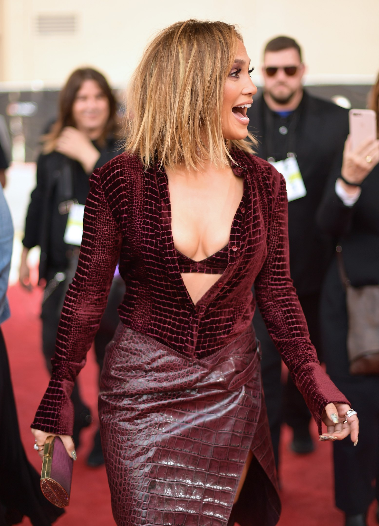 Jennifer Lopez attends 2018 Billboard Music Awards