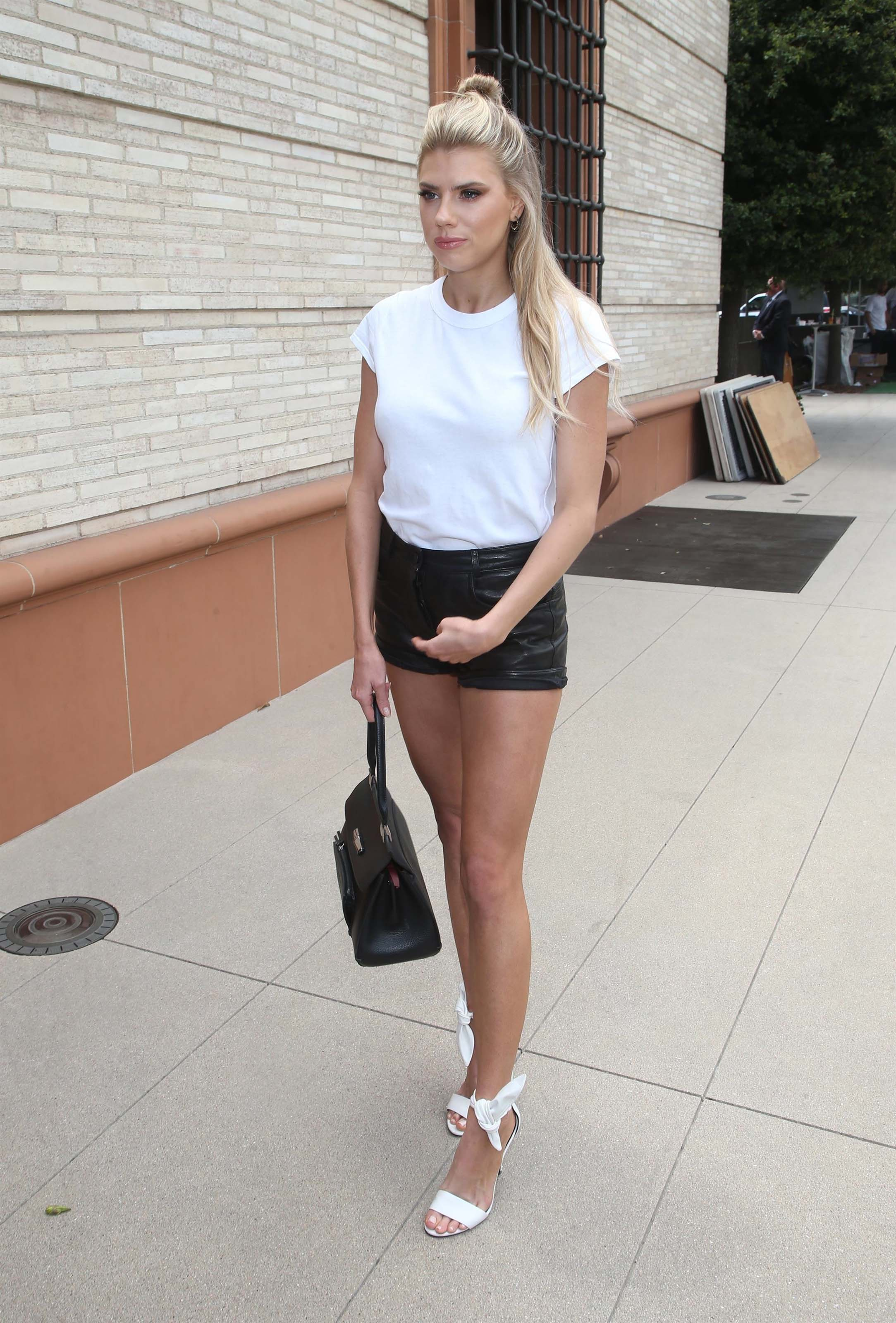 Charlotte McKinney attends Off The Menu & Postmates