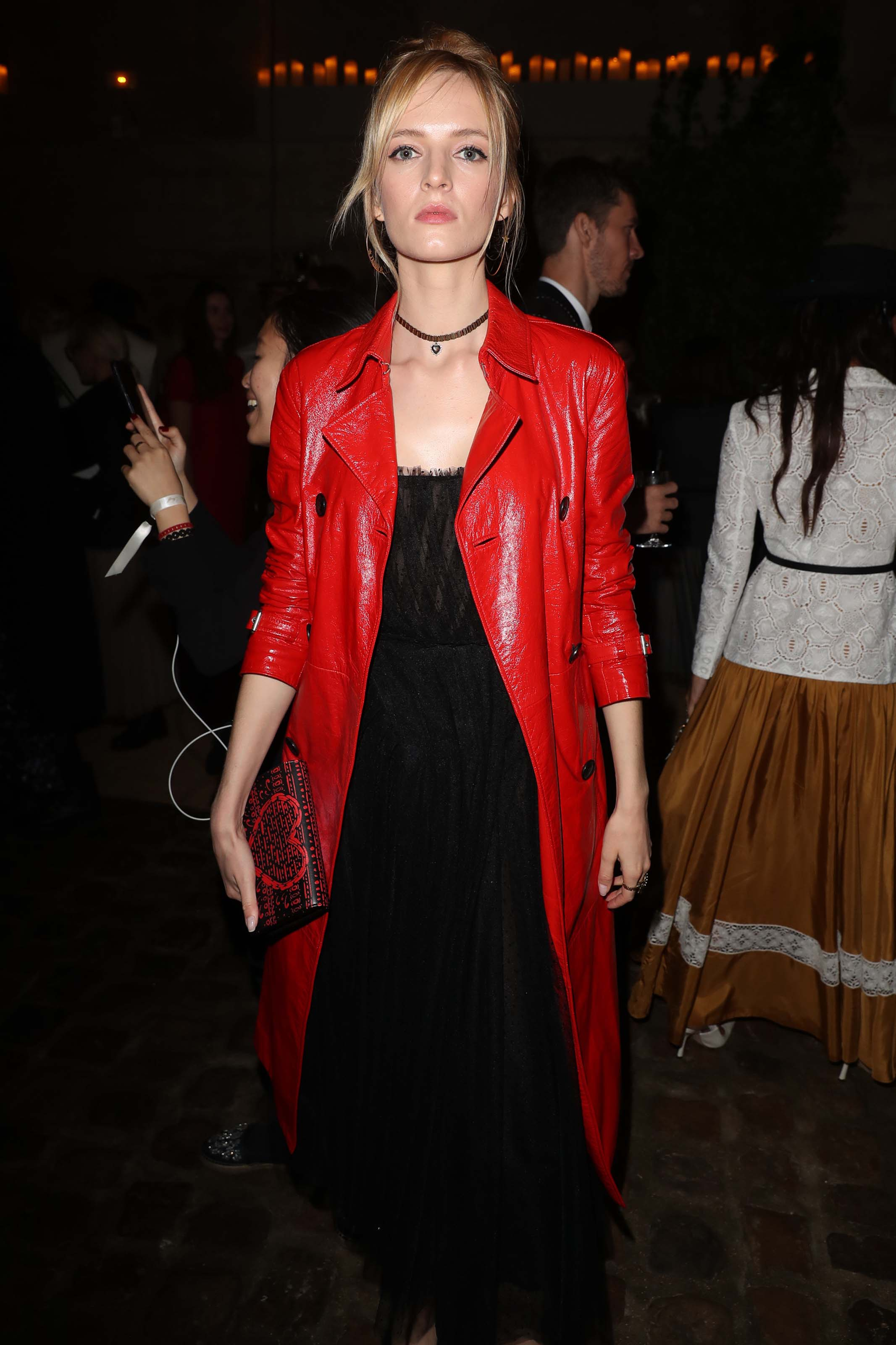 Daria Strokous attends Christian Dior Couture Cruise Collection Photocall