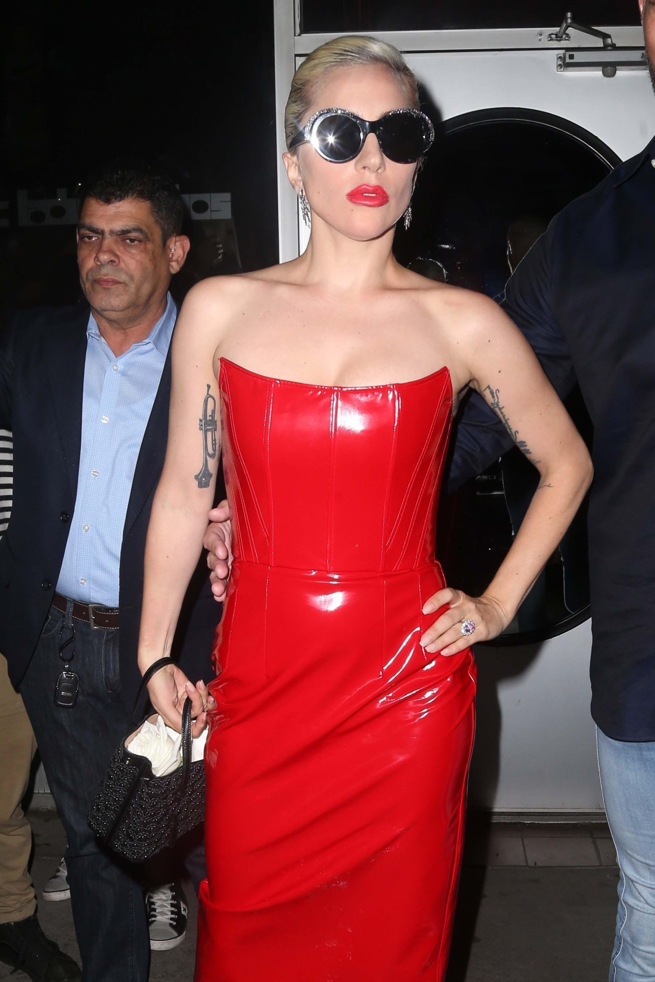 Lady Gaga seen in New York