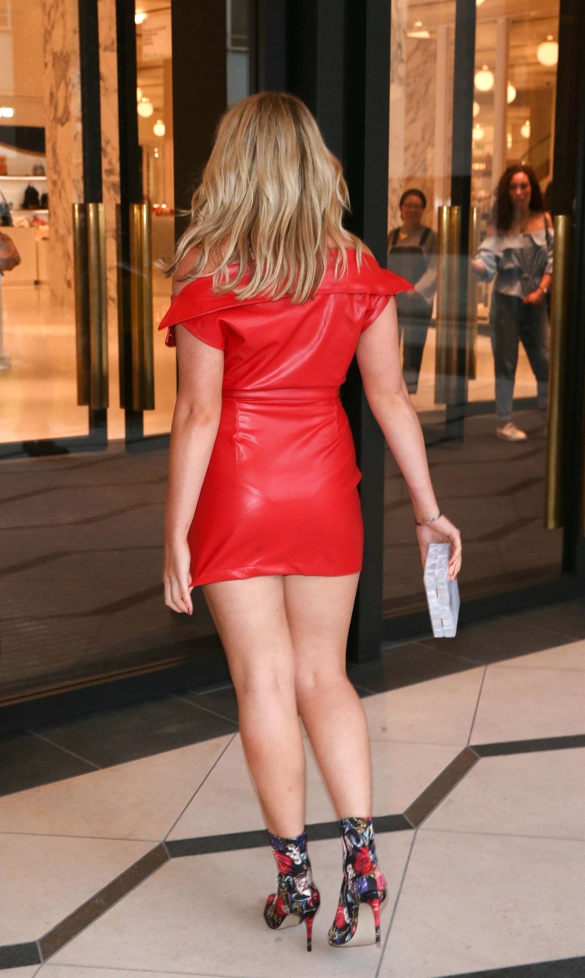 Tallia Storm attends Kurt Geiger boutique store launch