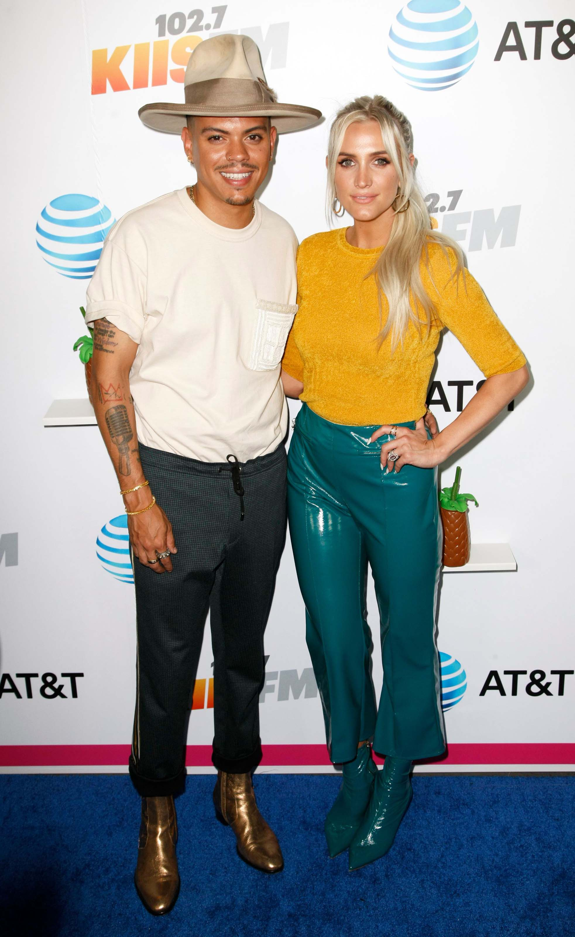 Ashlee Simpson attends the iHeartRadio Wango Tango