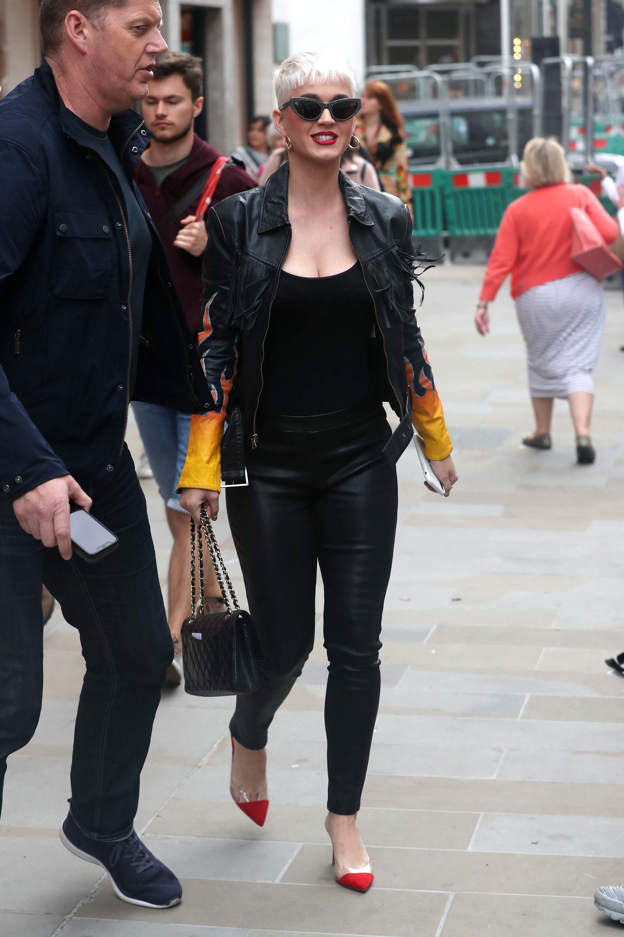 Katy Perry out in London