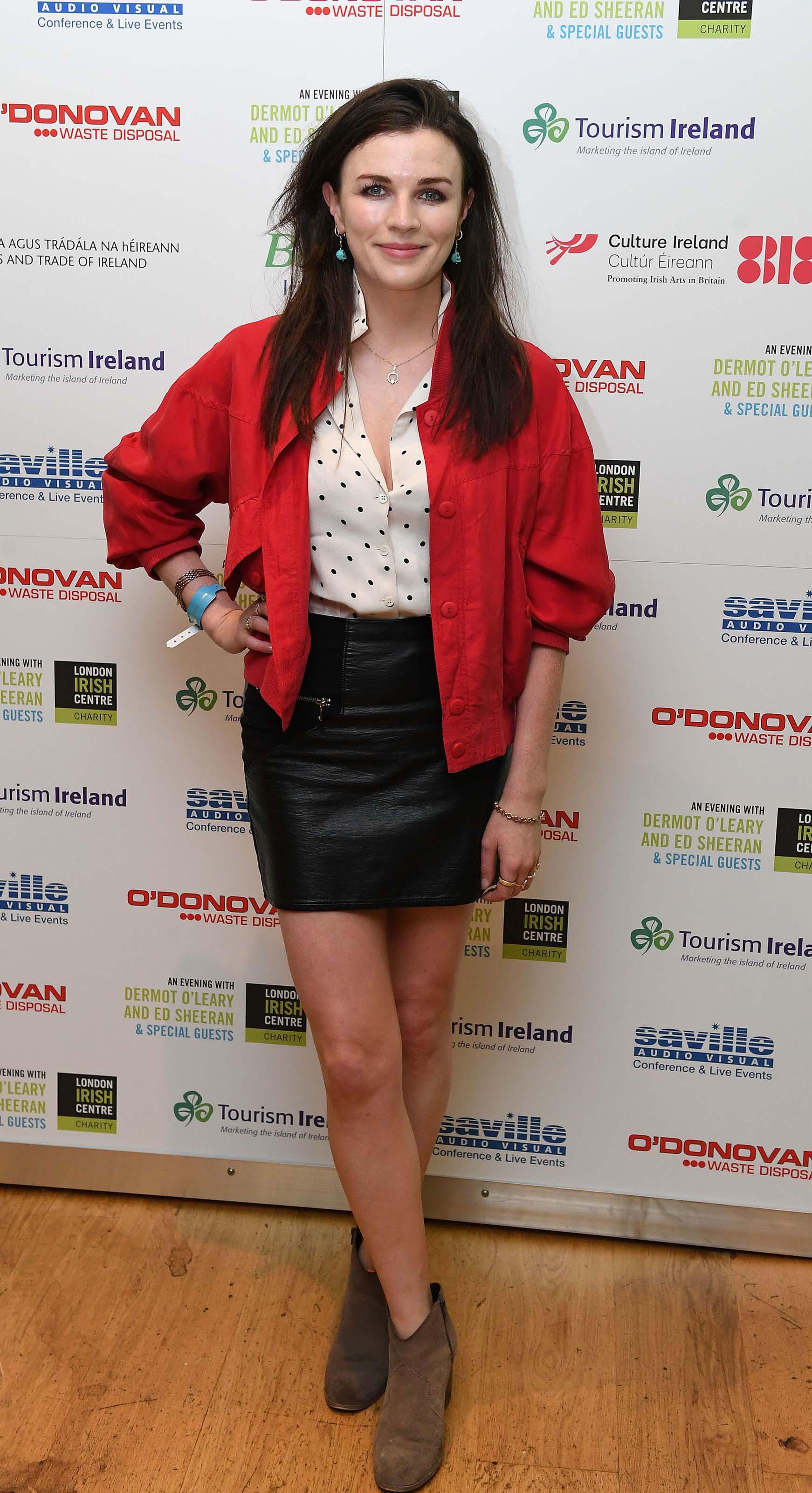 Aisling Bea attends The London Irish Center Gala